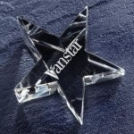 Optic Star Paper Weight Patriotic Awards