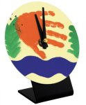 Round Desk Clock Workplace Gifts